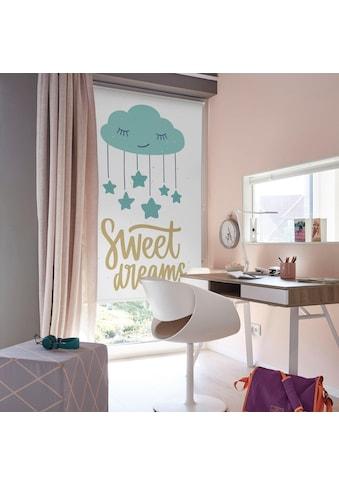 Lüttenhütt Seitenzugrollo »Sweet Dreams«, verdunkelnd, ohne Bohren, im Fixmaß kaufen