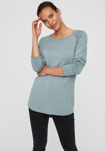 Vero Moda Rundhalspullover »VMNELLIE GLORY«, aus Viskose Feinstrick kaufen