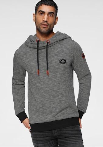 Cipo & Baxx Kapuzensweatshirt, in melierter Optik kaufen