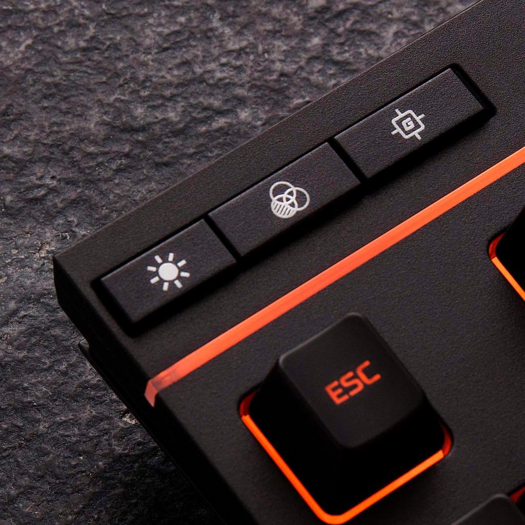 HyperX Gaming-Tastatur »Alloy Core RGB - Membrane«, (Multimedia-Tasten-USB-Anschluss-Ziffernblock)