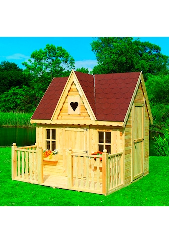 promadino Spielhaus »Schwalbennest«, BxTxH: 231x241x237 cm, inkl. Veranda kaufen