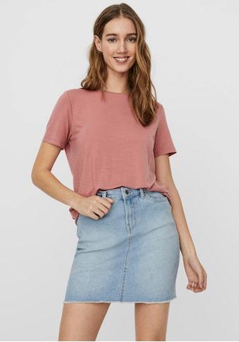 Vero Moda Rundhalsshirt »VMAVA SS TOP« kaufen