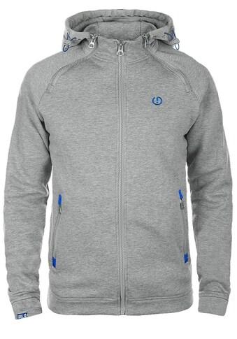 Solid Kapuzensweatjacke »BenjiZip«, Sweatshirtjacke mit Reißverschlüssen im Brustbereich kaufen