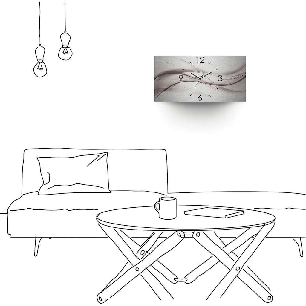 Artland Wanduhr »Abstraktes Design - schöne Welle«