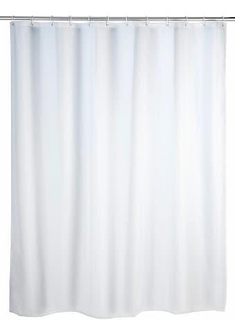 WENKO Duschvorhang »Uni White« Breite 180 cm kaufen