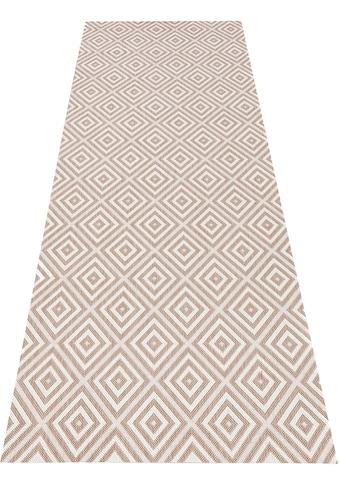 bougari Läufer »Karo«, rechteckig, 8 mm Höhe, Flachgewebe, In- und Outdoor geeignet,... kaufen
