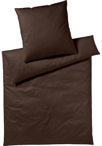Yes for Bed Bettwäsche »Pure & Simple Uni«, aus hochwertigem Mako-Satin kaufen
