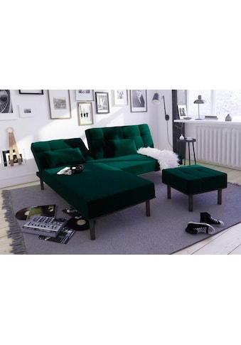 COLLECTION AB Ecksofa, inklusive Bettfunktion, Recamiere wahlweise links oder rechts... kaufen