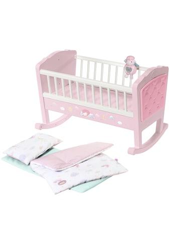 Baby Annabell Puppenwiege »Sweet Dreams«, mit Schlaflied und Schaukel-Automatik kaufen