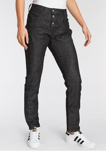 Please Jeans Boyfriend-Jeans »P 78A«, Black Denim kaufen