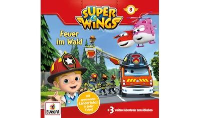 Musik-CD »008/Feuer im Wald / Super Wings« kaufen