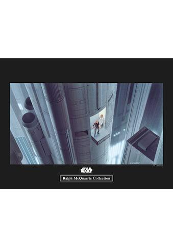 Komar Poster »Star Wars Classic RMQ Escape Plan«, Star Wars kaufen