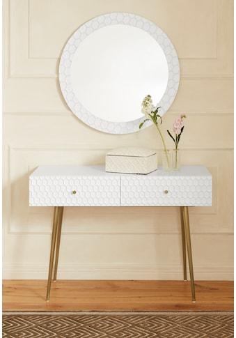 Guido Maria Kretschmer Home&Living Konsole »Easily«, Modernes Design, 2 Schubladen kaufen