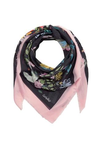 Codello Flower-Tuch aus Baumwolle und Seide kaufen