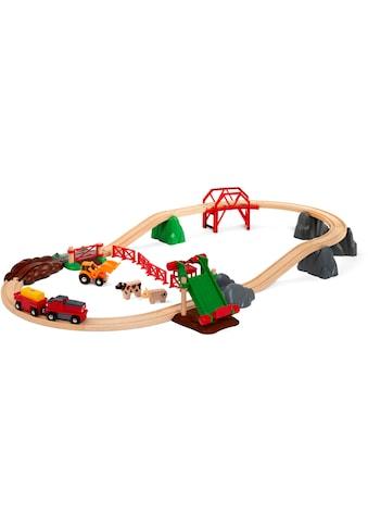 BRIO® Spielzeug-Eisenbahn »BRIO® Großes Bahn Bauernhof-Set«, FSC® - schützt Wald -... kaufen