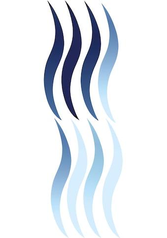 Kleine Wolke Fenstersticker »Wave«, für Bad und Dusche kaufen