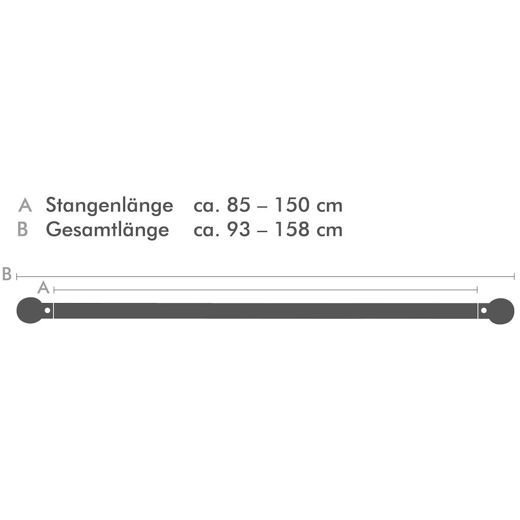 Good Life Scheibenstange »Quadrat«, 1 läufig-läufig, ausziehbar