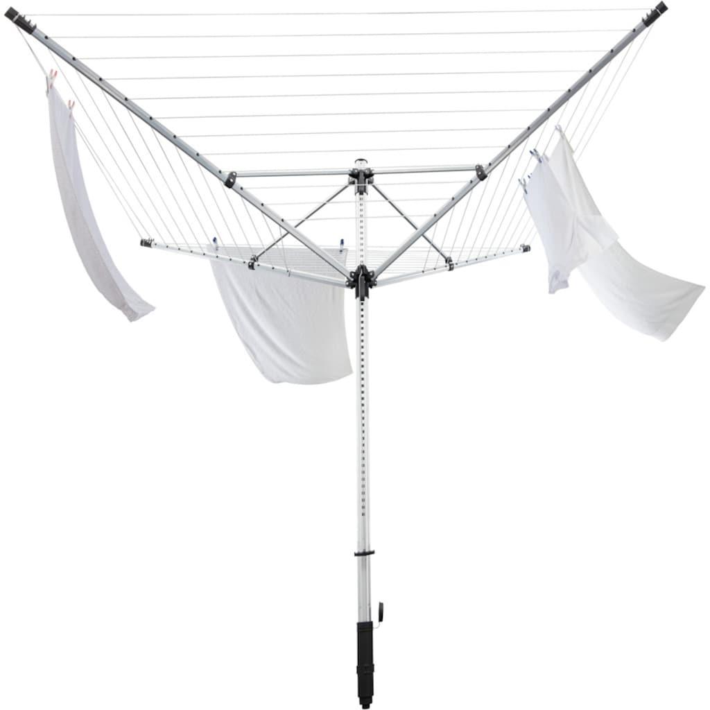 Leifheit Wäschespinne »LinoLift 600 QuickStart«, 60 m Leinenlänge