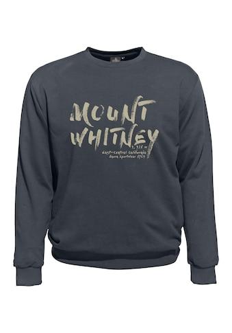 AHORN SPORTSWEAR Sweatshirt mit modischem Schriftzug kaufen