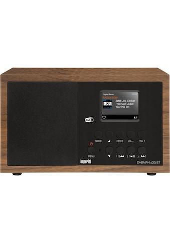IMPERIAL by TELESTAR Digitalradio (DAB+) »Dabman d35 BT«, (WLAN-Bluetooth Digitalradio (DAB+) ), mit Bluetooth kaufen