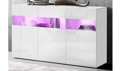 Tecnos Sideboard, Breite 130 cm, ohne Beleuchtung kaufen