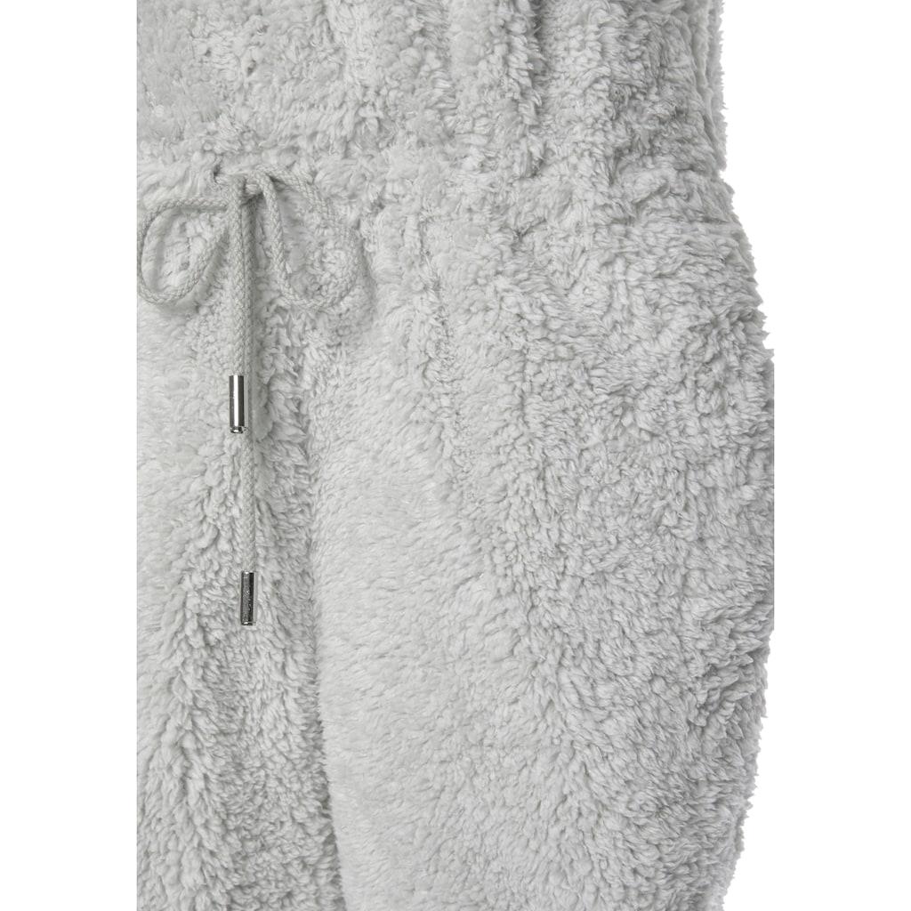 LASCANA Jumpsuit, auch kuscheligem Teddy-Fleece