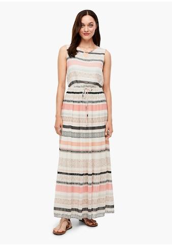 s.Oliver Chiffon-Kleid kaufen