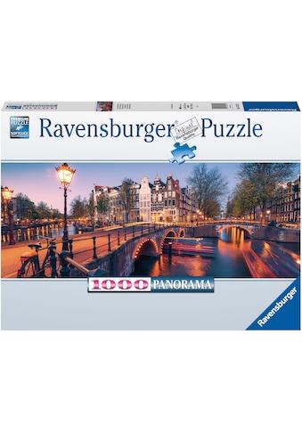 Ravensburger Puzzle »Abend in Amsterdam«, FSC® - schützt Wald - weltweit; Made in Germany kaufen
