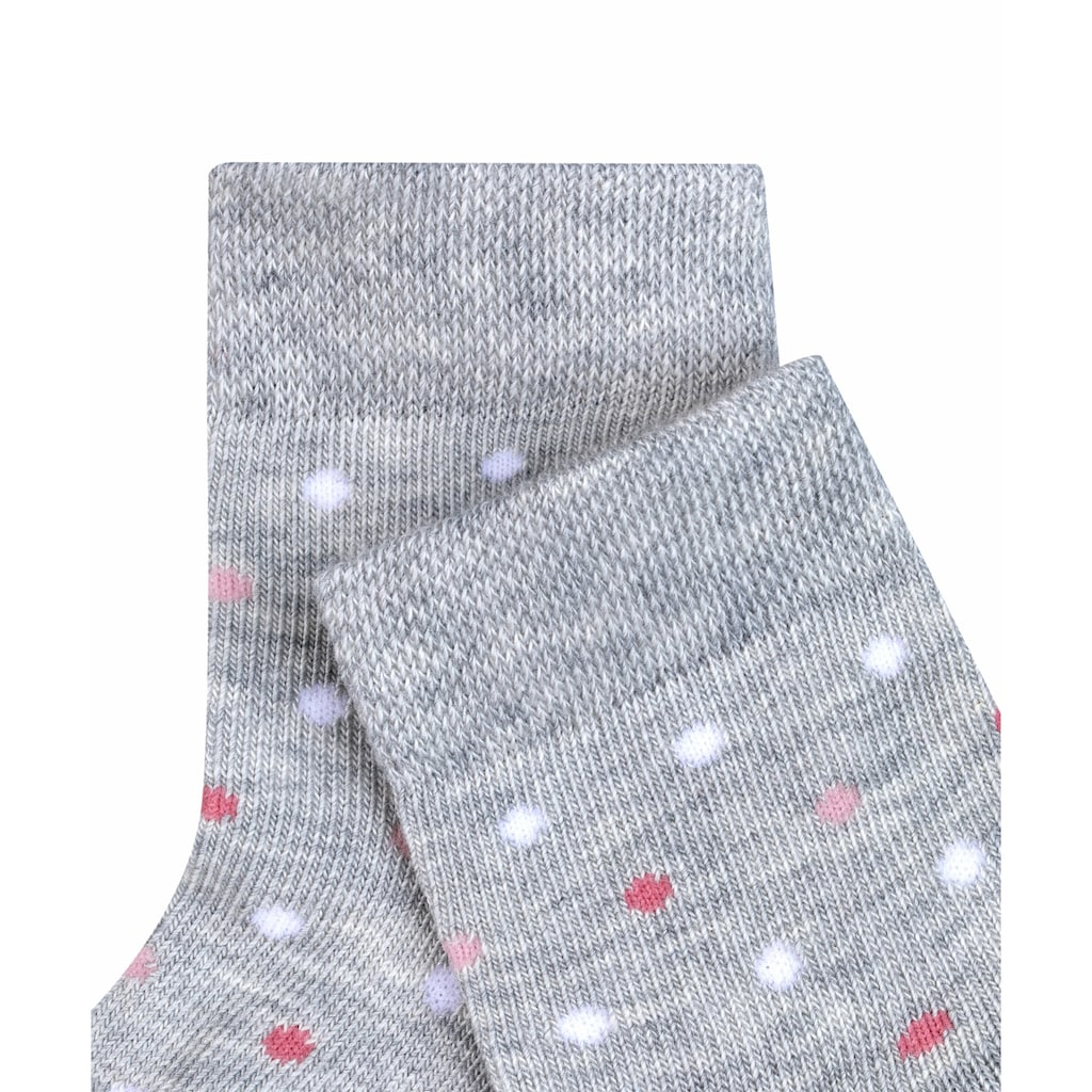 FALKE Socken »Little Dot«, (1 Paar), aus hautschmeichelnder Baumwolle