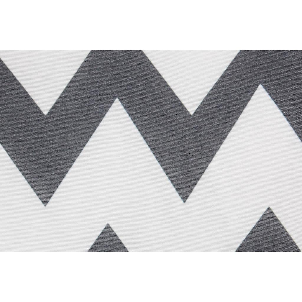 emotion textiles Dekokissen »Zick-Zack«