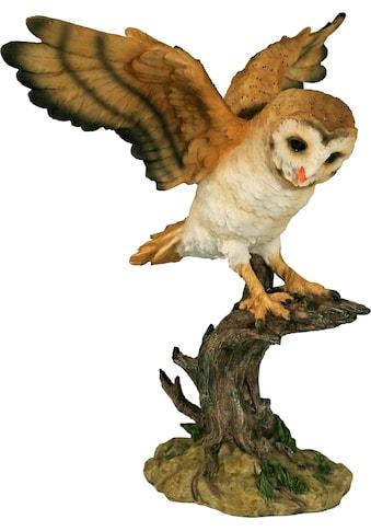 Home affaire Tierfigur »Eule mit gestreckten Flügeln« kaufen