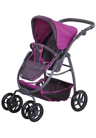 Knorrtoys® Puppenwagen »Coco - tec purple«, 2-in-1 kaufen