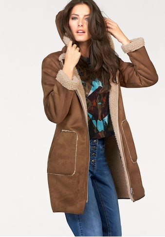 Aniston CASUAL Kurzmantel, mit Kapuze kaufen