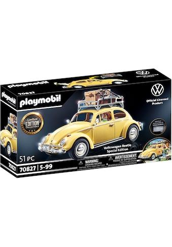 Playmobil® Konstruktions-Spielset »Volkswagen Käfer - Special Edition (70827)«, (51... kaufen