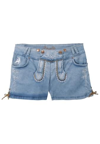 Hangowear Trachtenshort Damen mit seitlicher Beinschnürung kaufen