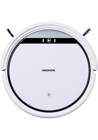 Medion® Saugroboter »MD 10065 optimiert für Tierhaare und Allergiker«, + erweitertes Ersatzteilset + systematische Navigation kaufen