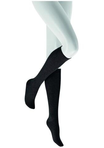 Hudson Kniestrümpfe »RELAX COTTON«, mit bequemen Komportbund kaufen