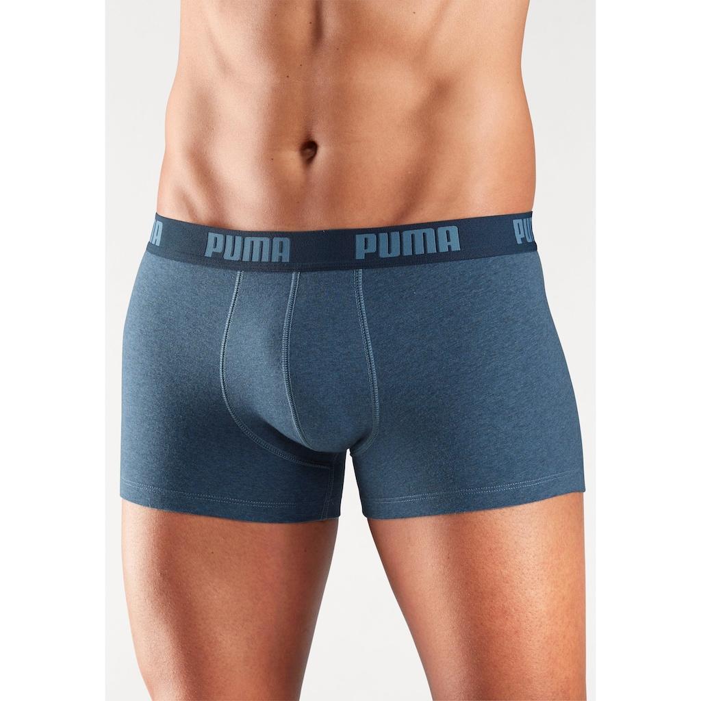 PUMA Hipster, in 3 Blautönen