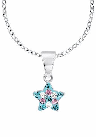 Prinzessin Lillifee Silberkette »Stern, 2013183«, mit Kristallsteinen kaufen