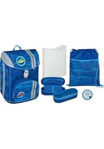Scooli Schulrucksack »FlexMax, Blue Wave« (Set, 5 tlg.) kaufen