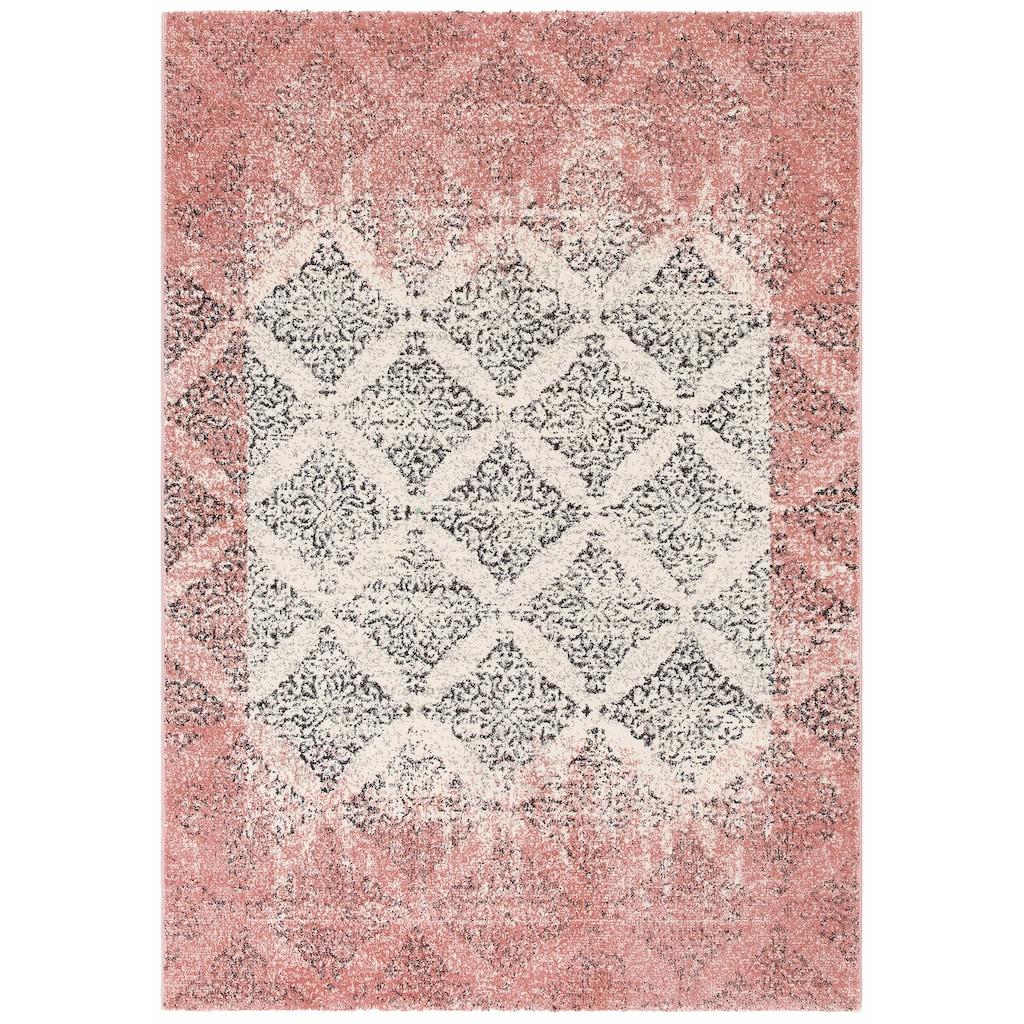 Home affaire Teppich »Maggie«, rechteckig, 13 mm Höhe, gewebt, Wohnzimmer