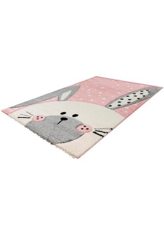 LALEE Kinderteppich »Amigo 324«, rechteckig, 15 mm Höhe kaufen