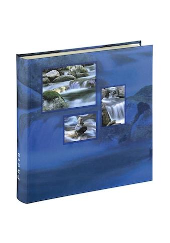 Hama Jumbo Foto Album, Photobuch, 30x30, 100 weiße Seiten Aqua »Singo, für 400 Fotos in 10x15« kaufen