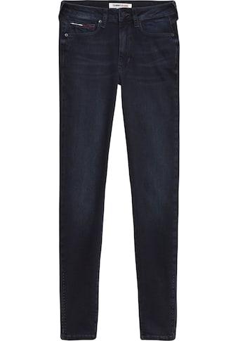TOMMY JEANS Skinny - fit - Jeans »SYLVIA HR SUPER SKNY ANKLE BRBK« kaufen