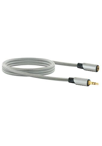 Schwaiger 3,5 mm Klinken Verlängerungskabel, Audio, AUX, Stecker-Kupplung »mit... kaufen