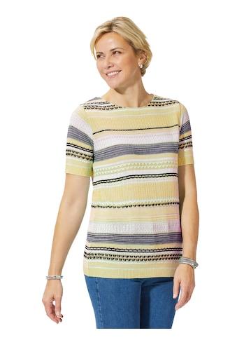 Casual Looks Pullover im aktuellen Strickmuster - Mix kaufen