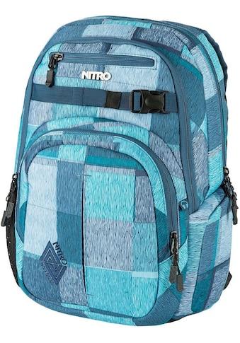 NITRO Schulrucksack »Chase, Zebra Ice« kaufen