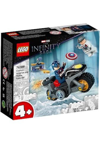 LEGO® Konstruktionsspielsteine »Duell zwischen Captain America und Hydra (76189),... kaufen