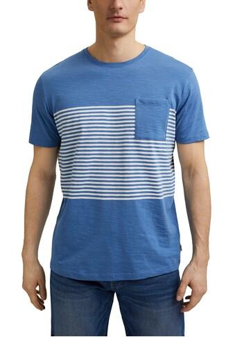 Esprit T-Shirt, modisch gestreifter Look kaufen