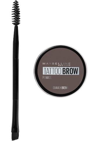 MAYBELLINE NEW YORK Augenbrauen-Gel »Tattoo Brow Pomade Pot« kaufen